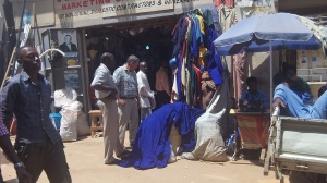 Purchasing supplies in Kampala