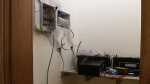 Starting work in battery/power room