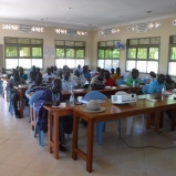 """The 23rd retreat and the first one in the new and enlarged """"Hall of Tyrannus"""". RAU is partnering with Reaching and Teaching International in training pastors using their curriculum of """"Head, Hearts and Hands""""."""