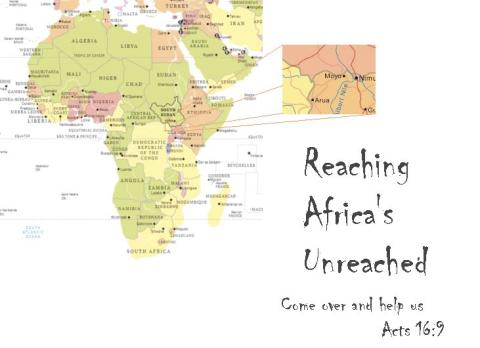 Reaching Africa's Unreached geographical working area.
