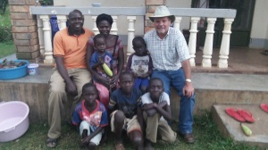 Pastor Abraham and his family have been such great hosts while in Moyo working on the R.A.U. Guesthouse/Hall of Tyrannus and proclaiming the glorious gospel.