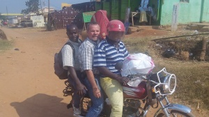 Boda Boda travel has been our main mode of transport in Kampala