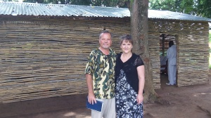 Preaching in Africa with my wife by my side...it doesn't get much better than that!
