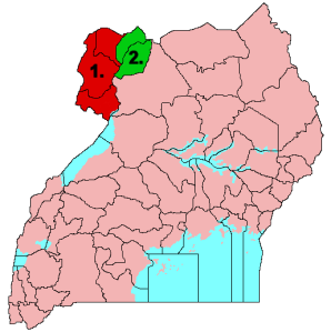 West Nile Region of Uganda