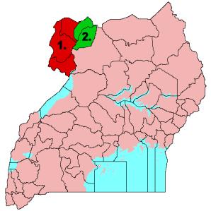 West Nile Region of Uganda