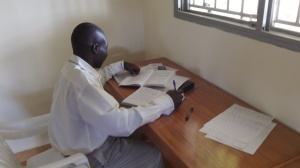 Godfrey studying at RAU