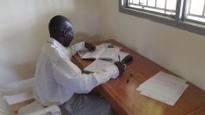 Godfrey studying at RAU
