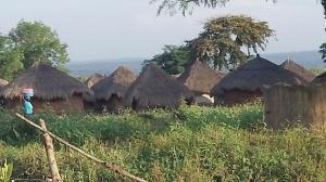 The neighborhood of Obongi Town church