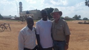 With Pastors Ben and Charles. These two pastors have been faithful witnesses Yumbe.