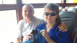 The best thing about the bus ride from Moyo to Kampala is being able to sit beside Carol for 16 hours!