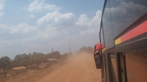 It was a dusty 13 hour bus trip from Kampala to Moyo