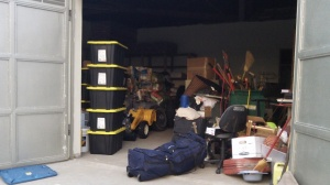 The garage was became full and very unorganized quite quickly.