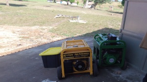 Generators to pump our water and provide other services...thank you Jesus!