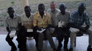 These five young men were some of the first to receive a Global Study Bible and a book. I will be working them over the coming year with hopes that they will go forth to pastor and plant churches in unreached areas.