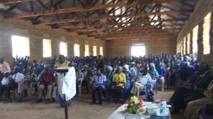 Discipleship training in Kerwa.