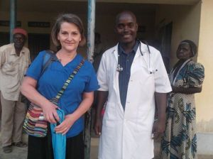 Carol and Sam spent many hours in Kerwa clinic demonstrating Christ's love through loving care and dispensing medices RAU had purchased with donations from faithful givers