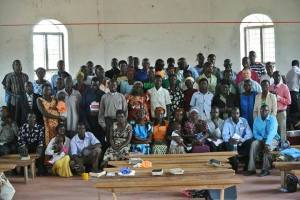 Pastors and leaders from all over Yumbe district attended RAU's two discipleship training.