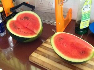 Luscious watermelon