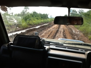 Muddy road ahead!