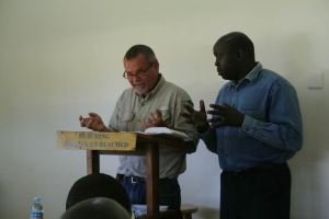 Jacob with Abraham Aluma interpreting