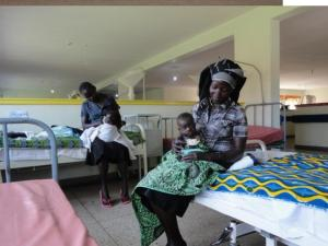 The children and mothers stayed in the Kampala hospital before surgeries and after their surgeries. RAU will also continue to care for them after they return their homes in Yumbe District