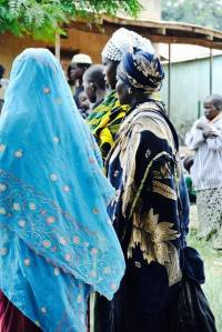 Attentive Muslim Women