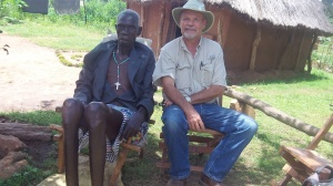 This older man professed Christ after sharing the gospel with him.