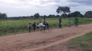 Kukus in front of RAU heading for South Sudan