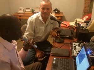 Preaching on New Life radio Moyo