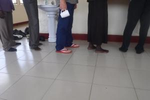 Rons feet