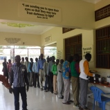 The 36 pastors were kept and cared for well all week long by the RAU staff.