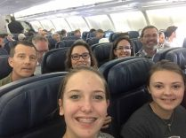 Kelci, Kara Beth, Edward,Jennifer Kourtney, and Tony on their way to R.A.U.!