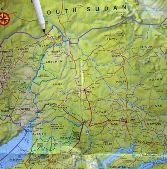 RAU Map 1