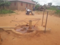 Broken Bore Hole at Aya